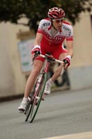 Damien Monier dans le bon groupe en tête de course