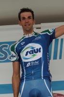Laurent Mangel sur le podium de la Classic Loire-Atlantique