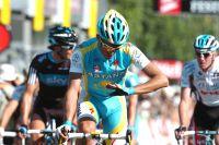 Alberto Contador vérifie s'il n'est pas blessé