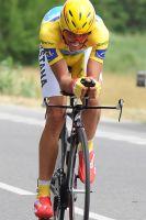 Alberto Contador a souffert sur un parcours sinueux