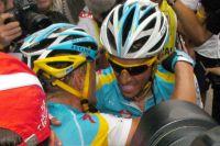 Contador et Vinokourov unis vers un même objectif?