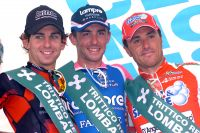 Le podium de la Coppa Agostoni 2010