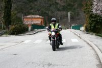 Les motards de Média Moto Sécurité encadrent la cyclo