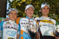 Le podium 2010 des Trois Vallées Varésines
