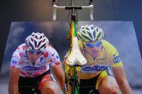 Le vélo Eddy Merckx de Sylvain Chavanel sur le Tour 2010