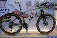 Le VTT Scott Champion du monde 2009 et vainqueur de la Coupe du Monde 2010 du Suisse Nino Schurter