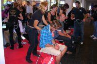 Sur l'Eurobike, les massages sont compris dans le prix !