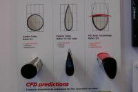 Chez Scott on parle aérodynamique avec trois versions de tubes, dont celle du FO 1 de Mark Cavendish