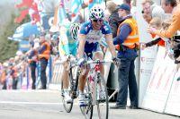 Joaquin Rodriguez conteste la 2ème place de la Flèche Wallonne à Alberto Contador, tête basse