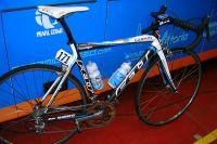 Le vélo de Tylar Farrar pour l'étape de Wanze-Arenberg sur le Tour