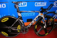 Le vélo de contre-la-montre de Tylar Farrar pour le Tour