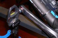 Le prototype de la pédale Shimano en carbonne pour le Tour