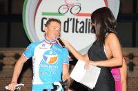 Thomas Voeckler au départ du Giro 2010