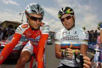 Cadel Evans raconte sa course à Stefano Garzelli