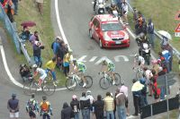 Le Giro entre dans les Dolomites
