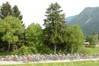 Le peloton du Giro 2010