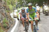 Dans le Mortirolo, Ivan Basso part à la conquête du Maillot Rose