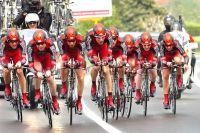 Cadel Evans emmène son équipe BMC Racing Team