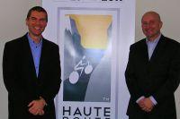 Rémi Duchemin et Jean-François Alcan, coordinateurs de la Haute Route