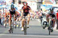 Gilbert, Valverde, Evans, trois poursuivants impuissants