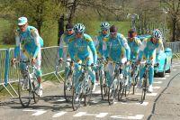 Alberto Contador et sa garde rapprochée