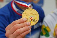 La médaille d'or des Championnats de France