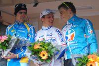 Le podium du Challenge National de Miramas : Julien Absalon, Francis Mourey et Steve Chainel