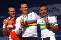 Le podium du Championnat du Monde 2010