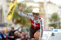 Fabian Cancellara décroche son quatrième titre mondial dans le contre-la-montre