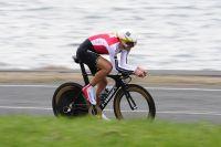 Sur le front de mer, Fabian Cancellara est lancé à toute allure