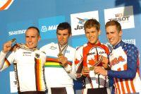 Le podium du Championnat du Monde Espoirs... et une médaille de bronze pour deux