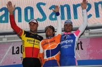 Le podium de la 101ème édition de Milan-San Remo