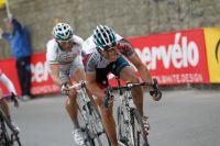 Philippe Gilbert et Filippo Pozzato donnent l'assaut dans le Poggio