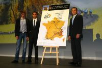 Andy Schleck, Alberto Contador et Lance Armstrong se mesureront sur le Tour de France 2010
