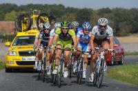 Yuriy Krivtsov et Laurent Pichon emmènent l'échappée de Paris-Tours