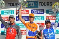 Le podium de Paris-Tours 2010
