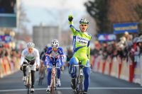 Peter Sagan remporte à 20 ans une victoire prometteuse