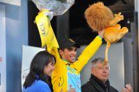 Alberto Contador rayonne avant un week-end décisif