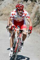Maillot à Pois sur le dos, Amaël Moinard aura pesé sur la dernière étape de Paris-Nice