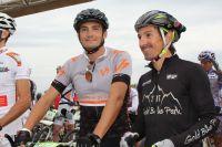 Richard Virenque coaché par Miguel Martinez sur le Roc d'Azur