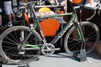 Le magnifique Canyon Aeroad CF déjà utilisé par Gilbert sur le Tour d'Espagne et futur vélo de l'équipe Omega Pharma-Lotto