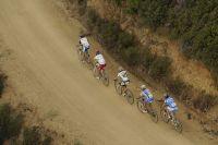 Un groupe de cinq échappés sur les sentiers des Maures