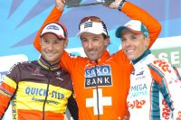 Le podium du Tour des Flandres