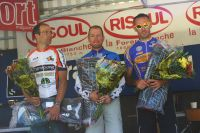 Nicolas Fine, Jérôme Phanon, Stéphane Ekindjian, le podium du 151 km
