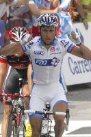 Sandy Casar remporte sa troisième victoire d'étape sur le Tour
