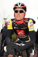 Luis Leon Sanchez très concentré avant le départ