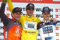 Le podium du Tour de Suisse a de l'allure