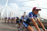 Sylvain Chavanel en chef de file de la formation Quick Step