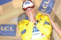 Sylvain Chavanel remporte sa deuxième victoire sur le Tour mais enfile son premier maillot Jaune