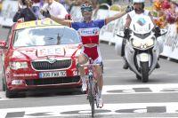 Jour de gloire pour Thomas Voeckler à Bagnères-de-Luchon